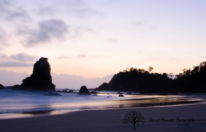 Sunrise at Flynns Beach Port Macquarie